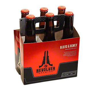 Revolver Blood & Honey American Wheat Ale 6 PK Bottles, 12 oz