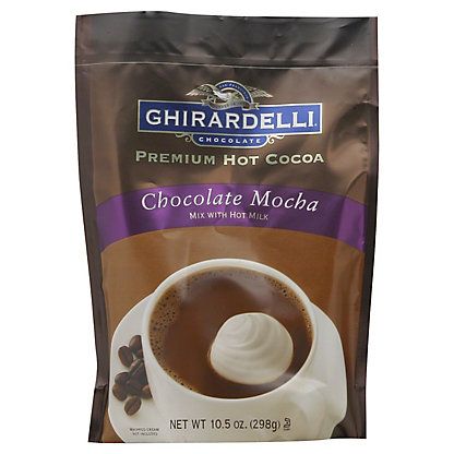 Ghirardelli Premium Chocolate Mocha Hot Cocoa Mix,10.5OZ