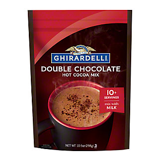 Ghirardelli Premium Double Chocolate Hot Cocoa Mix,10.5OZ