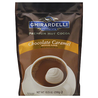 Ghirardelli Premium Chocolate Caramel Hot Cocoa Mix,10.5OZ