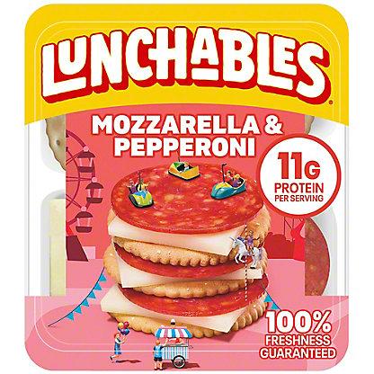 Oscar Mayer Lunchables Pepperoni & Mozzarella Lunch Combinations,2.25 OZ