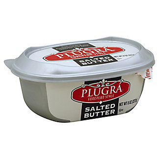 Plugra European Style Salted Butter Tub,8 oz