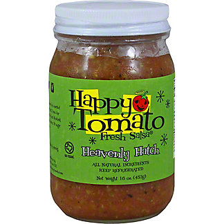 Happy Tomato Heavenly Hatch Salsa, 16 oz