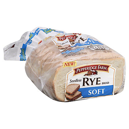 Pepperidge Farm Seedless Soft Rye Bread, 16 oz