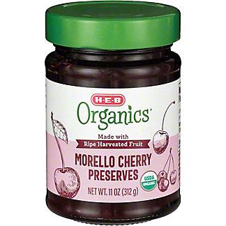H-E-B Organics Morello Cherry Preserves,11 OZ