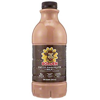 Borden Dutch Chocolate Milk,1 QT