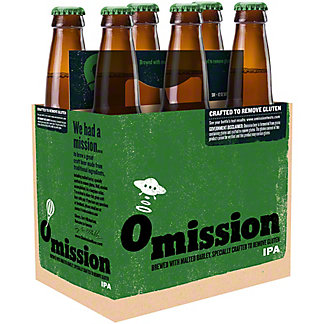 Widmer Brothers Omission Indian Pale Ale Bottles 6 CT,12 OZ