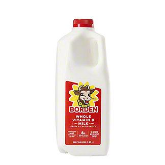 Borden Vitamin D Milk,1/2 GAL