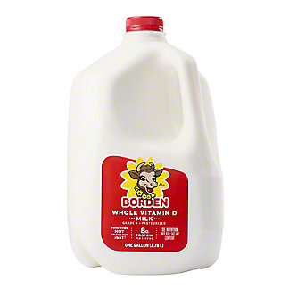 Borden Vitamin D Milk,1 GAL