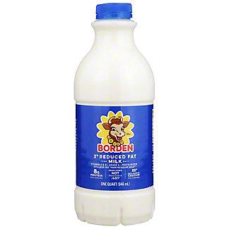 Borden Reduced Fat 2% Milkfat Milk, 1 qt