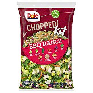 Dole Chopped BBQ Ranch Salad Kit,EACH