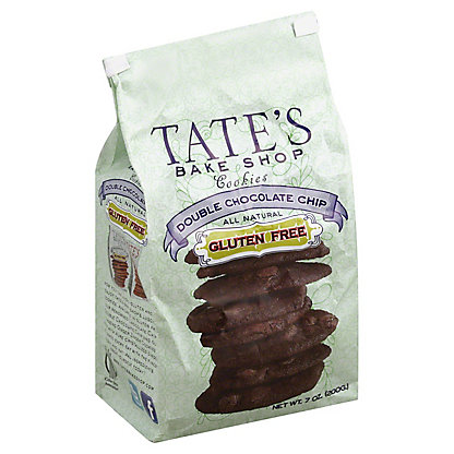 Tate's Bake Shop Gluten Free Double Chocolate Chip Cookies,7 OZ
