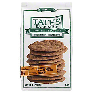 Tate's Bake Shop Gluten Free Ginger Zinger Cookies,7 OZ