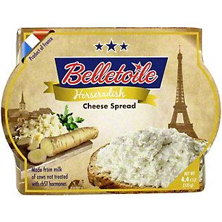 Beletoile Horseradish Cheese Spread, 4.4 oz