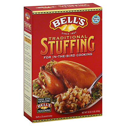 Bells Traditional Stuffing Mix, 16 OZ