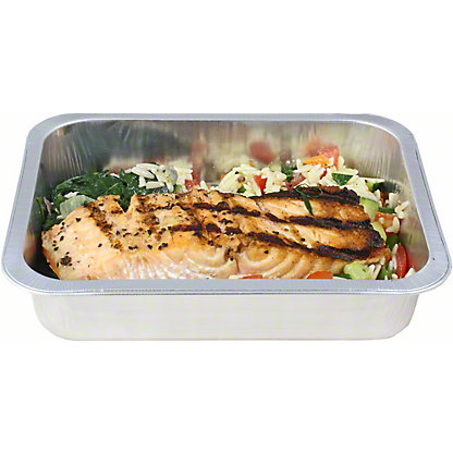Central Market Grilled Salmon Orzo Healthy Dinner For One, ea