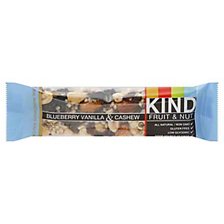 Kind Fruit and Nut Blueberry Vanilla & Cashew Bar,1.4 OZ