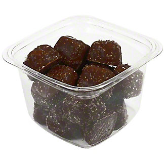 Central Market Dark Chocolate Sea Salt Caramels, 10.6 oz
