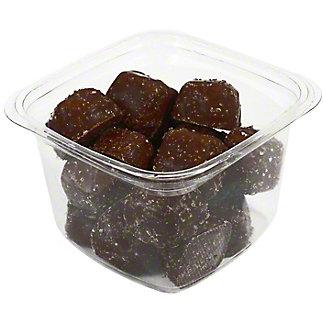 Central Market Dark Chocolate Sea Salt Caramels, 10.6 oz