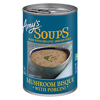 Amy's Mushroom Bisque With Porcini Soup,14 OZ