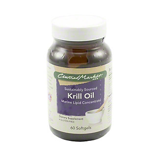 Central Market Krill Oil Softgels, 60 ct