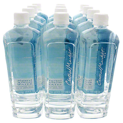 Central Market Artesian Water, 12PK,12/1LT