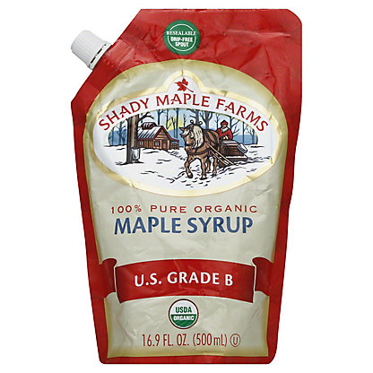 Shady Maple Farms 100% Pure Maple Syrup,16.90 oz