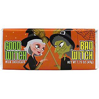 Zany Bar Good Witch Bad Witch Milk Chocolate Bar, 1.75 oz