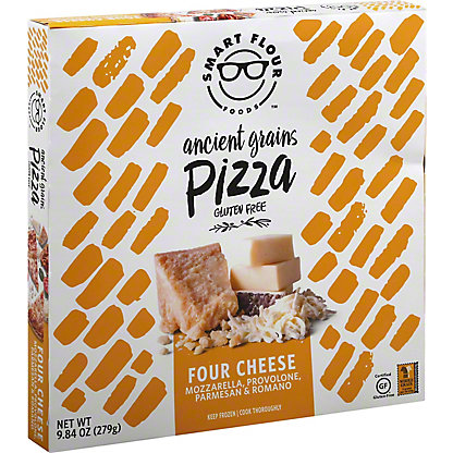 Smart Flour Foods Gluten Free Classic Cheese Pizza, 10 oz