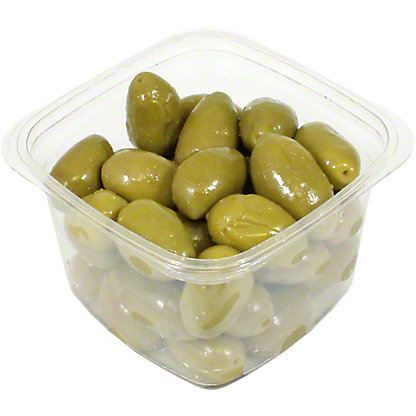 Divina Green Cerignola Olives, Sold by the pound