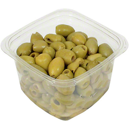 La Medina Pitted Picholine Olives, Sold by the pound