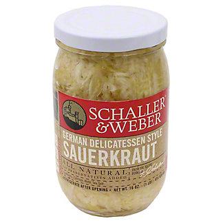 Schaller & Weber German Delicatessen Style Sauerkraut,16 OZ