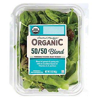 Central Market Organic 50/50 Blend, 5 oz