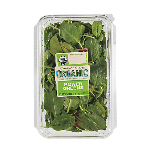 Central Market Organics Power Greens, 16 OZ.