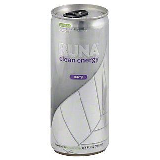Runa Berry Clean Energy Drink,8.4OZ