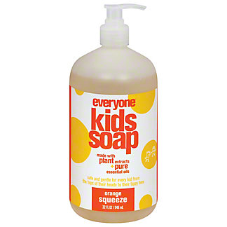 EO Orange Squeeze Everyone  Soap for Every Kid,32 OZ