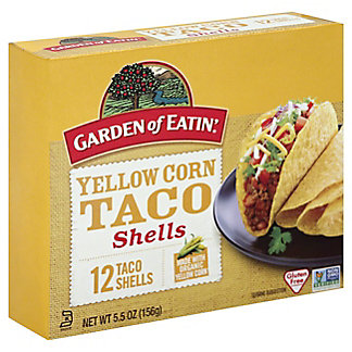 Garden of Eatin Yellow Corn Taco Shells, 12 ct