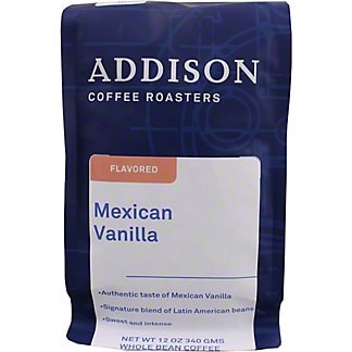Addison Coffee Natural Mexican Vanilla, 12 oz
