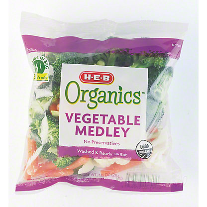 H-E-B Organics Vegetable Medley,10 oz