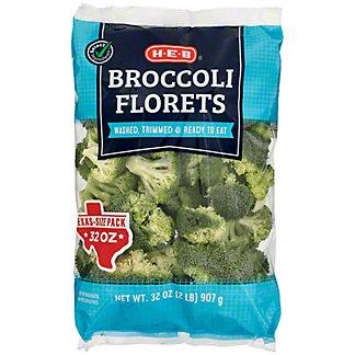 H-E-B Broccoli Florets, 32 oz