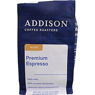 Addison Premium Espresso Blend, 12 oz
