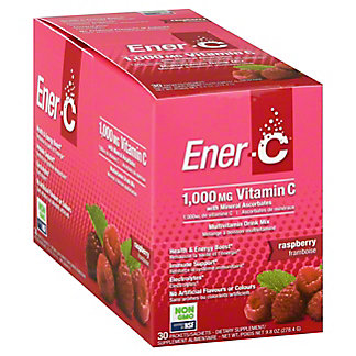 EnerC Ener C Raspberry 30CT, 30 ea