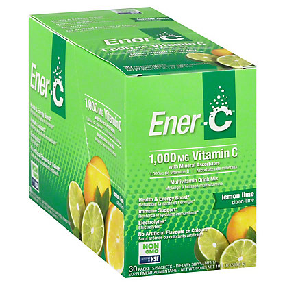 EnerC Ener C Lemon Lime 30CT, 30 ea