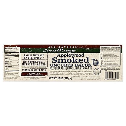Central Market Natural Applewood Stack Bacon, 12 oz