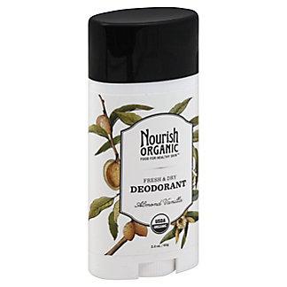 Nourish Organic Deodorant Almond Vanilla,2.2 OZ
