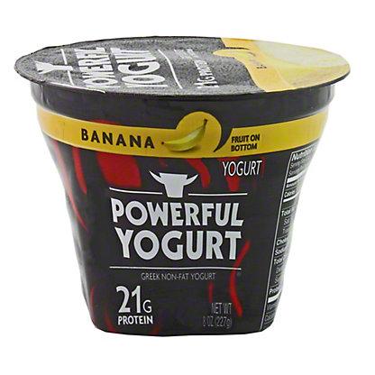 Powerful Yogurt Banana,8 OZ
