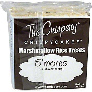 The Crispery Crispycakes Smores Marshmallow Rice Treats,6 OZ