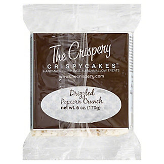 The Crispery Crispycakes Marshmallow Treat, Drizzled Popcorn Crunch,6OZ