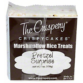 The Crispery Crispycakes Pretzel Surprise Marshmallow Rice Treats,6 OZ