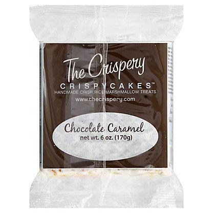 The Crispery Crispycakes Chocolate Caramel marshmallow Rice Treats,6OZ
